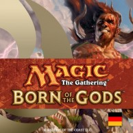 Born of the Gods Intro-Pack-Display (Deutsch)